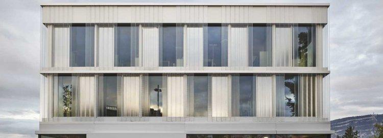 Bâtiment administratif de la ville de Lancy & requalification du parc de la Mairie